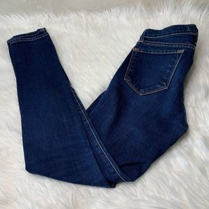 J Brand Jeans - J Brand Skinny Low-rise Jeans In Ink